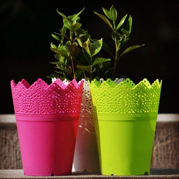 vasi plastica vasi per piante tipologie di vasi in