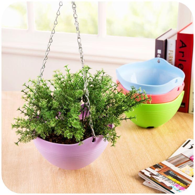 Vasi plastica vasi per piante tipologie di vasi in for Vasi sospesi
