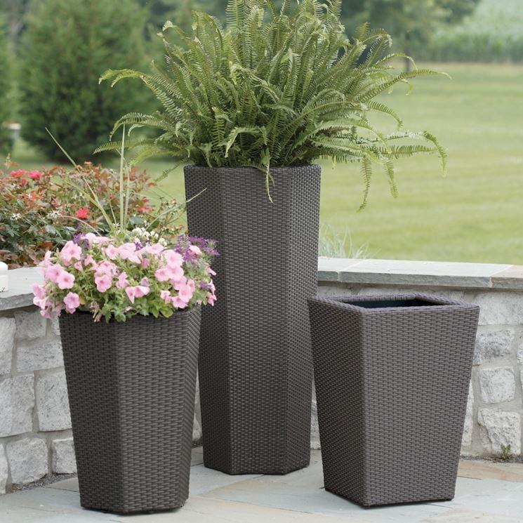 Vasi resina esterno vasi per piante materiale vaso esterni for Vasi decorativi per esterno